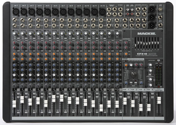 sửa mixer mackie