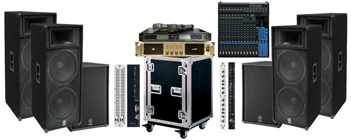 thiết bị âm thanh chuyên nghiệp